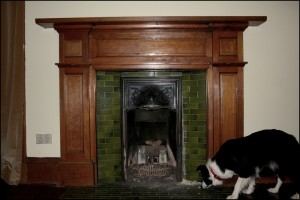 Victorian Open Fireplace