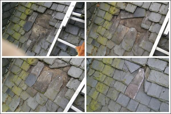 Replacing old slates